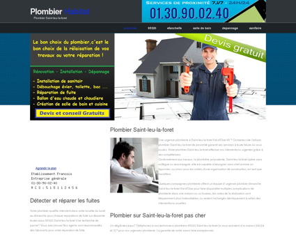 Plombier Saint-leu-la-foret, 95 | Adam Packs...
