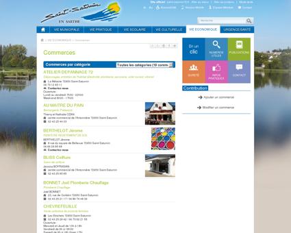 Commerces - Saint-Saturnin - Site officiel de...