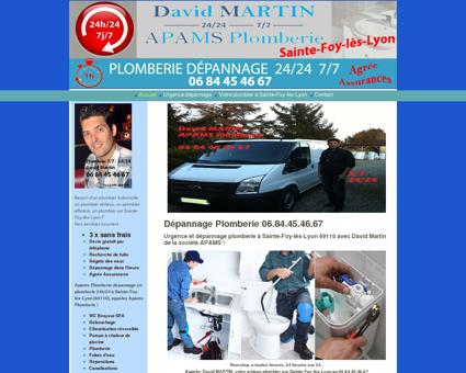 Apams Plomberie dépannage Sainte-Foy-lès...