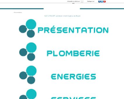H2O Concept | Plombier à Saint Sulpice de...