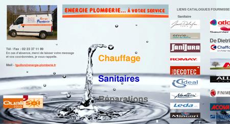 Energie Plomberie,Florent Guillon Plombier...