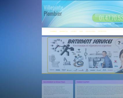 Plombier Villepinte - Telephone tarifs plomberie