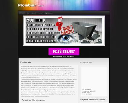 Plombier 14500 Vire - Discount taux horaire...