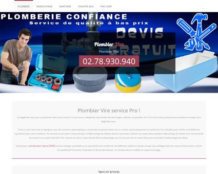 Plombier 14500 Vire - Telephone plombier...
