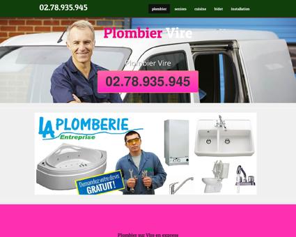 Plombier Vire - Élouan vidange fosse septique