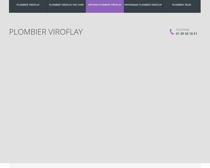 Plombier Viroflay