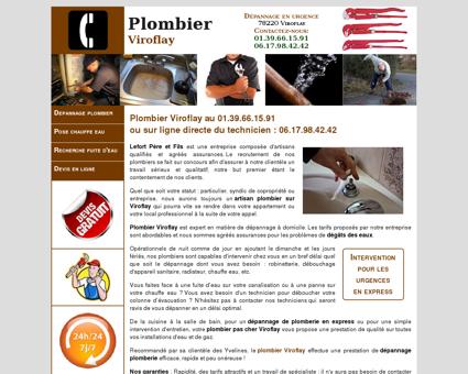 Plombier Viroflay - Urgence au 01.39.66.15.91