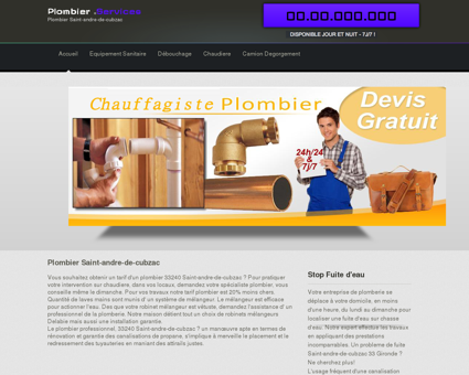 Plombier Saint-andre-de-cubzac | Dylan devis...