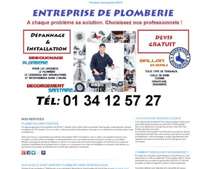 Plomberie Saint-gratien TEL:01 34 12 57 27