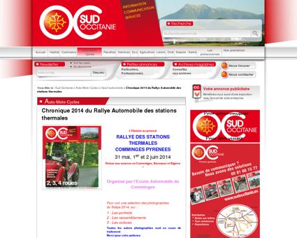 Chronique 2014 du Rallye Automobile des...
