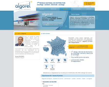 Algorel : leader français de la distribution en...