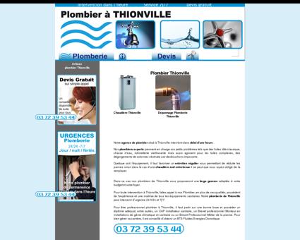 Plombier Thionville | tel:03 72 39 09 24