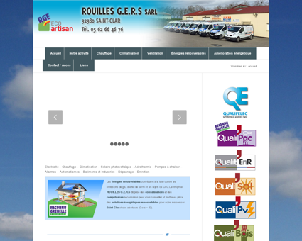 Rouillès G.E.R.S - Electricité - Plomberie dans le...