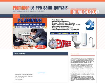 Plombier 93310 Le Pre-saint-gervais - Samuel...