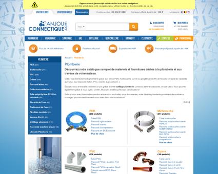 Fourniture Pour Plomberie | Anjou-connectique.com