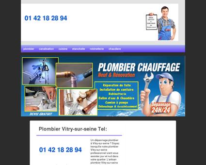 Plombier 94400 Vitry-sur-seine - Cedric Votre...