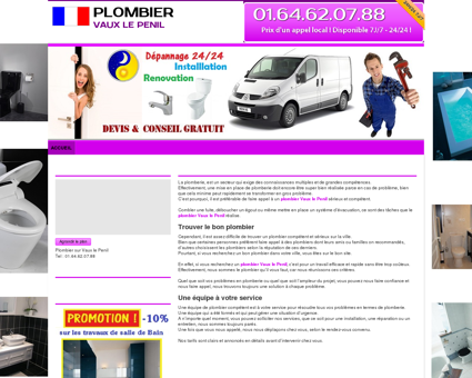 Plombier Vaux le Penil : 01.64.62.07.88