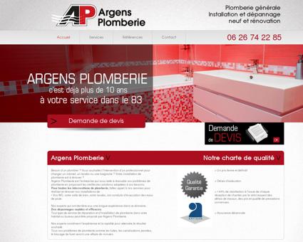 Argens plomberie | Plomberie générale...