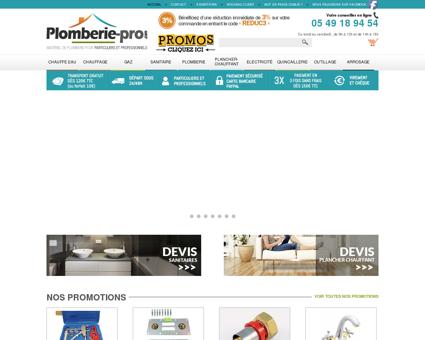 Plomberie pro, Le spécialiste du matériel, tube...