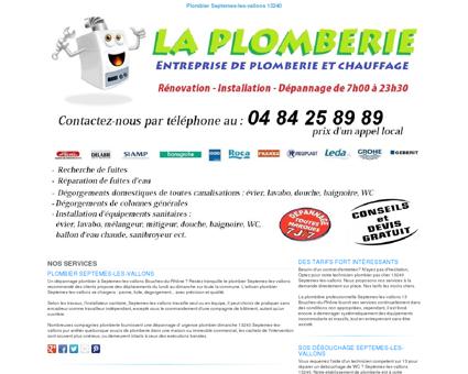 Plombier Septemes-les-vallons TEL:04 84 25...
