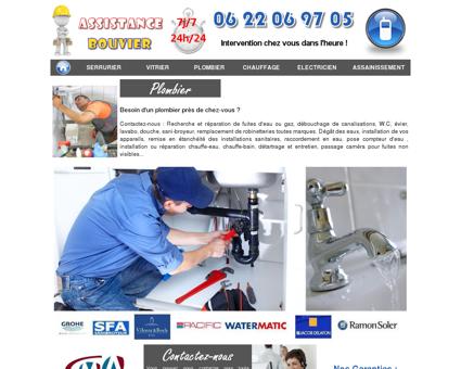 Plomberie TINQUEUX - Dépannage - Fuite - Débouchage.