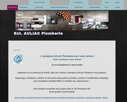 Dépannage Plomberie   auliacplomberie.fr
