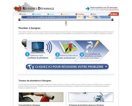 Plombier à Savignac : dépannage plomberie à...