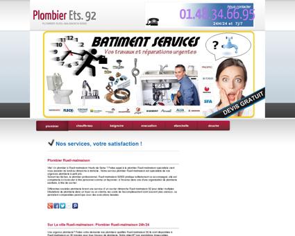 Plombier 92500 Rueil-malmaison - Lilian tarif...