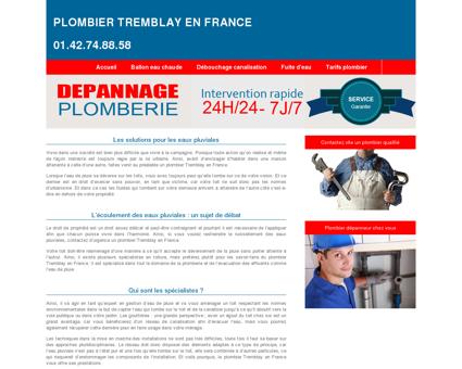 Plombier Tremblay-en-france, 93 | Antonin...