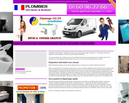 Antony Plombier 91370 Verrieres-le-buisson -...