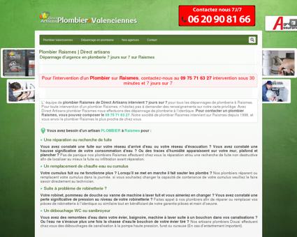 Plombier Raismes | Dépannage Plomberie