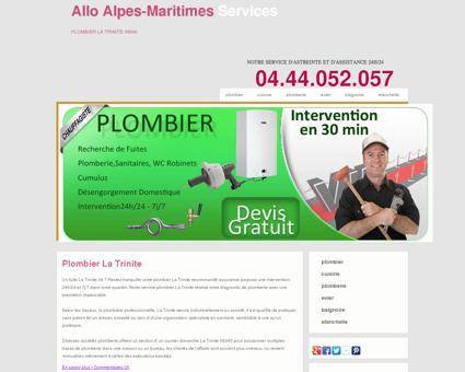 Plombier 06340 La Trinite - Numero très...