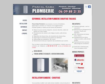 Pascal Saba Plomberie - Votre plombier à...