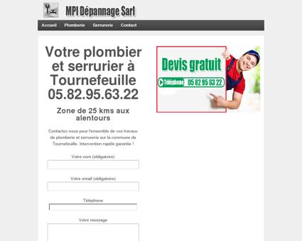 Plombier et serrurier à Tournefeuille -...