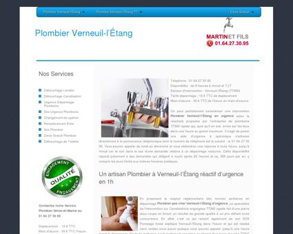 Plombier Verneuil-L'etang