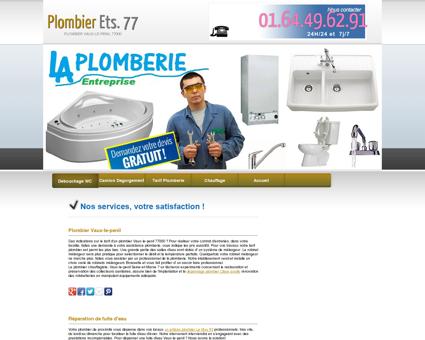 Plombier Vaux-le-penil Maurice Inspection...