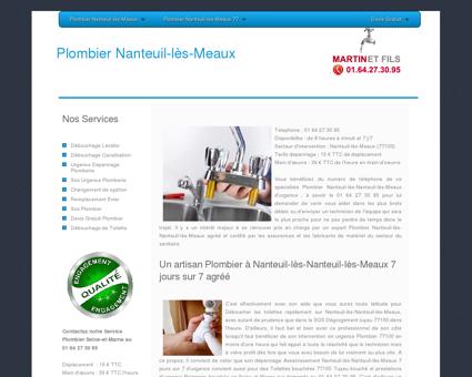 Plombier Nanteuil-les-Meaux