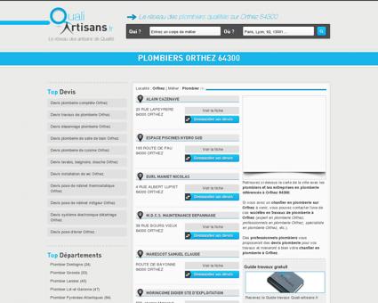 Plombier Orthez 64300