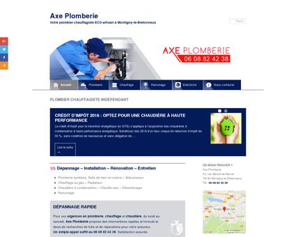 Plombier chauffagiste ECO-artisan Montigny...