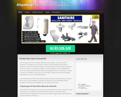 Plombier Notre-dame-de-bondeville Constant...