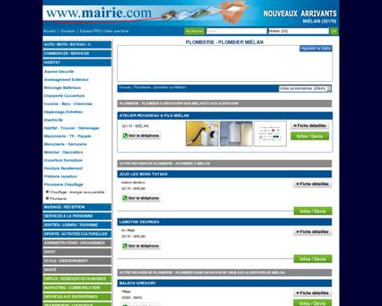 Plomberie - plombier Miélan : Mairie.com