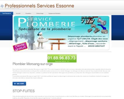 Plombier Morsang-sur-orge, 91 | Prix prix...