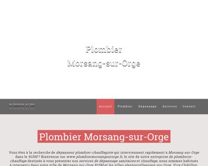 Plombier Morsang-sur-Orge | 09.72.42.53.80 |...
