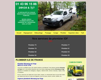 Plombier Morsang-sur-Orge - 80/h - 01 43...