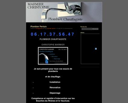 Christophe Marmier | Plombier Chauffagiste...