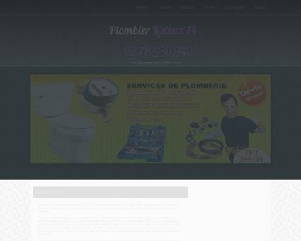 Plombier Lisieux | Thibault curage