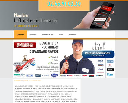 Plombier La Chapelle-saint-mesmin, 45 -...
