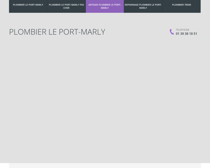 Plombier Le Port-Marly
