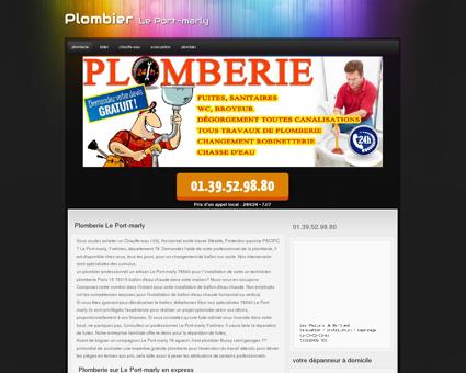 Plombier Le Port-marly - Titouan materiel...