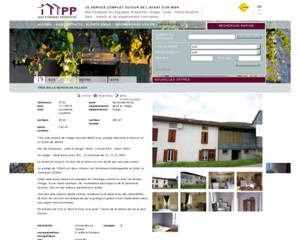 Midi Pyrenees Proprietes Très jolie maison de...